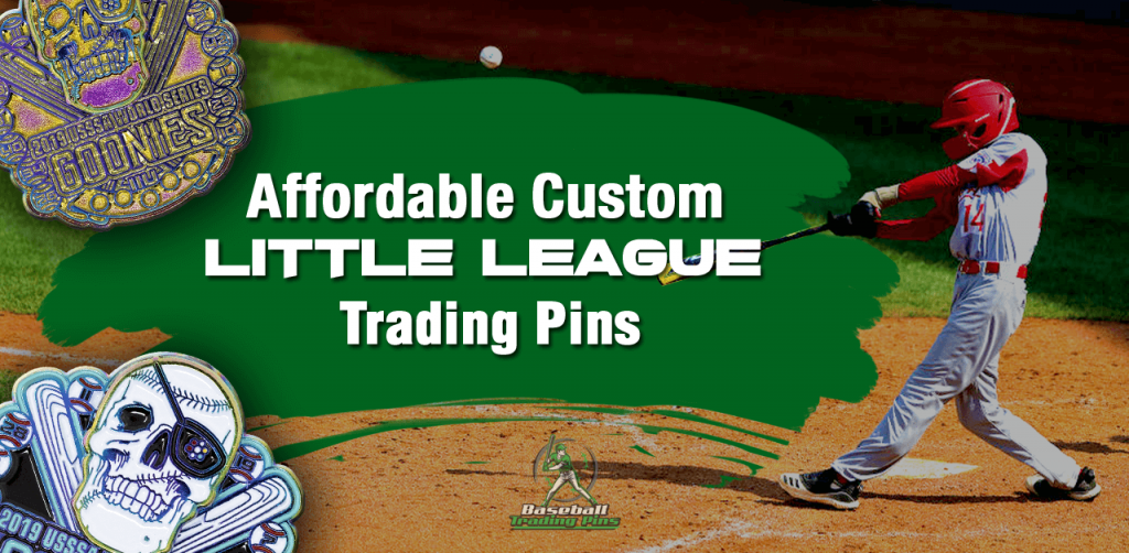 Affordable Custom Little League Trading Pins