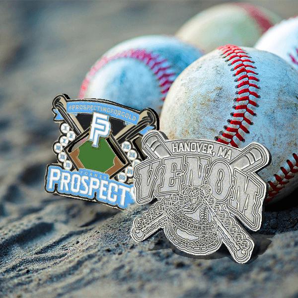 Baseball Trading Pins Types