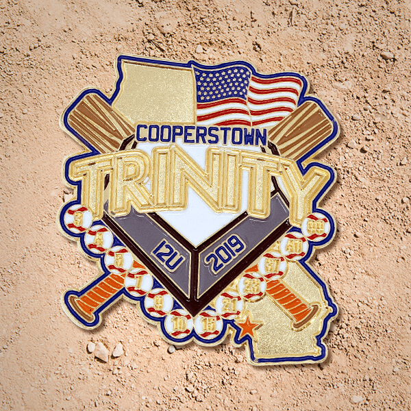 Trading Little League Baseball Pins